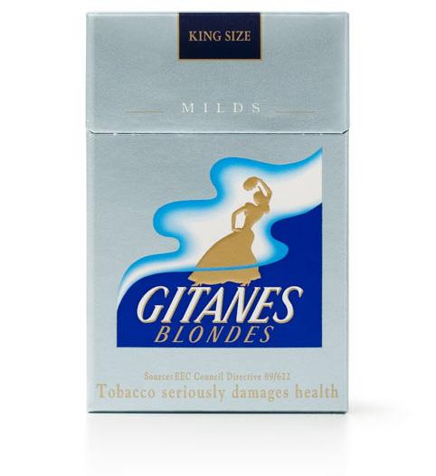 Сигареты «Житан». ОАЭ, 2006