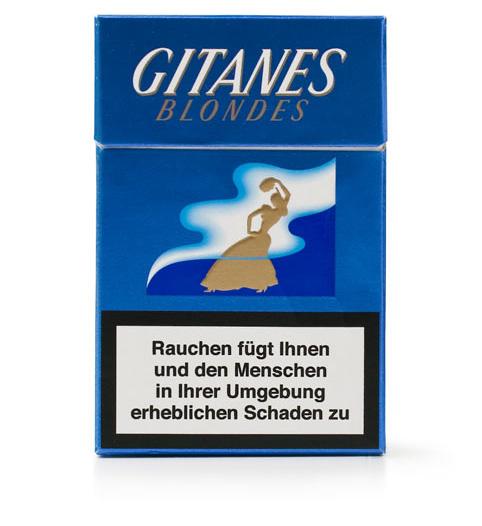 Сигареты «Житан». Германия, 2007