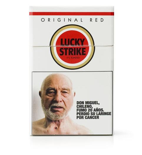 Сигареты «Лаки страйк». Чили, 2007