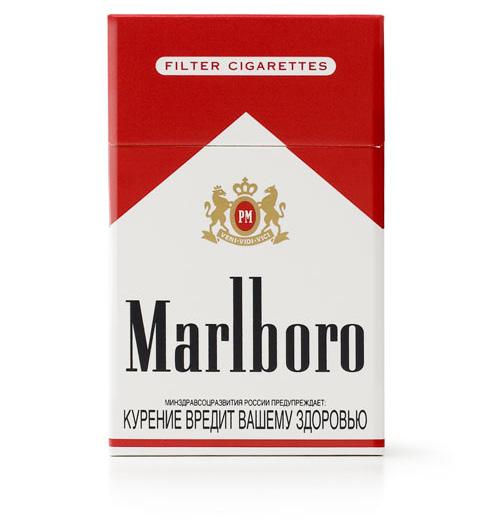 Сигареты «Мальборо». Россия, 2007