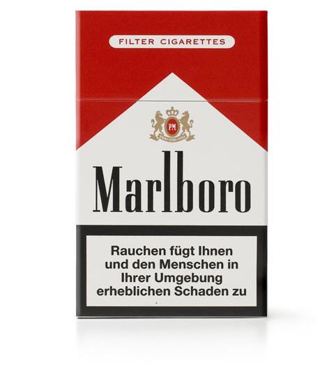 Сигареты «Мальборо». Германия, 2007