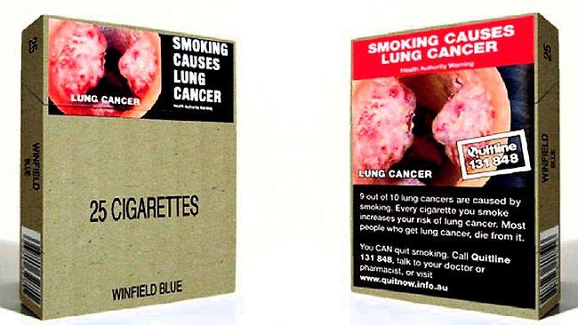 Единая упаковка на сигареты
