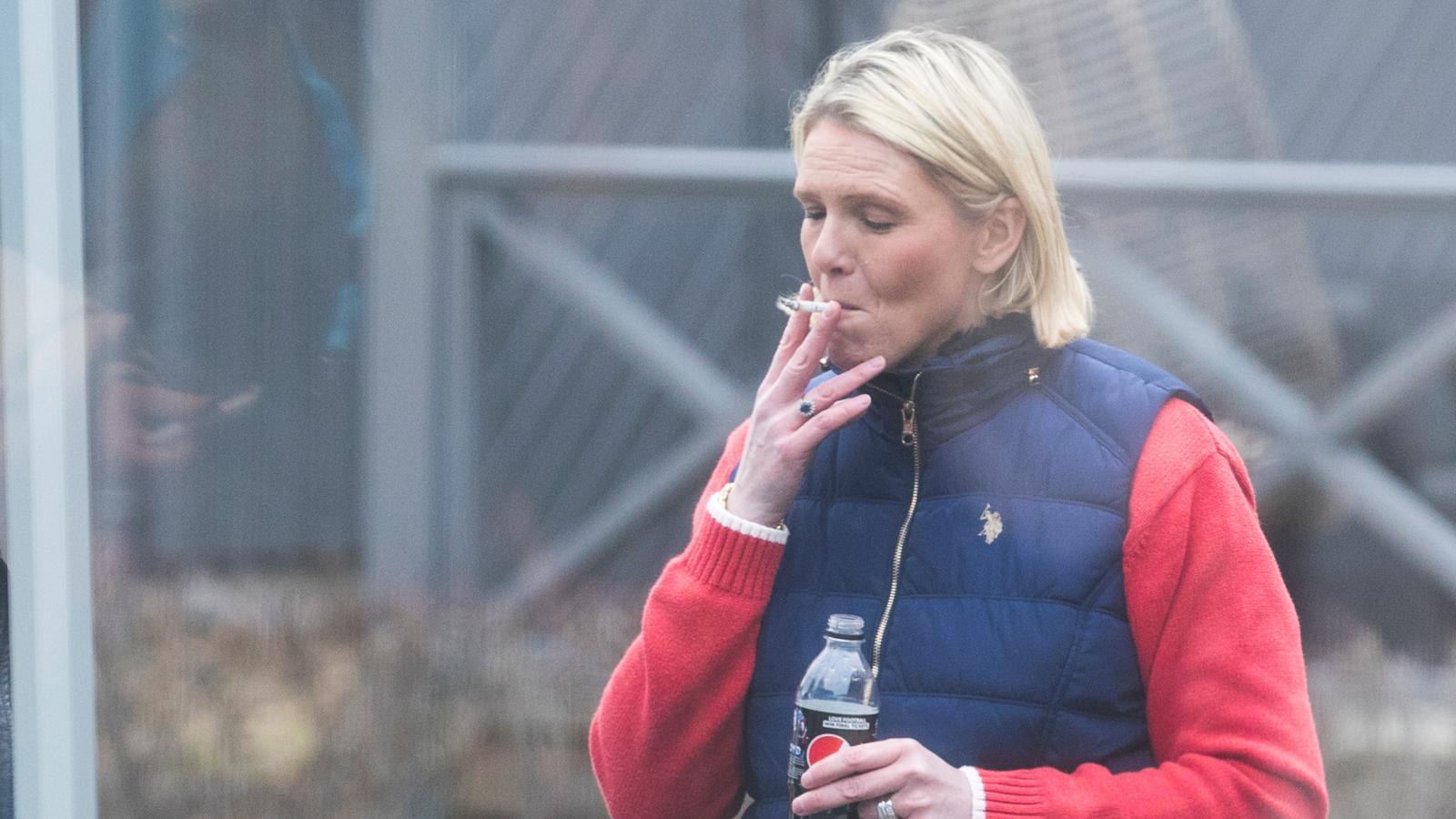 Курящий министр
