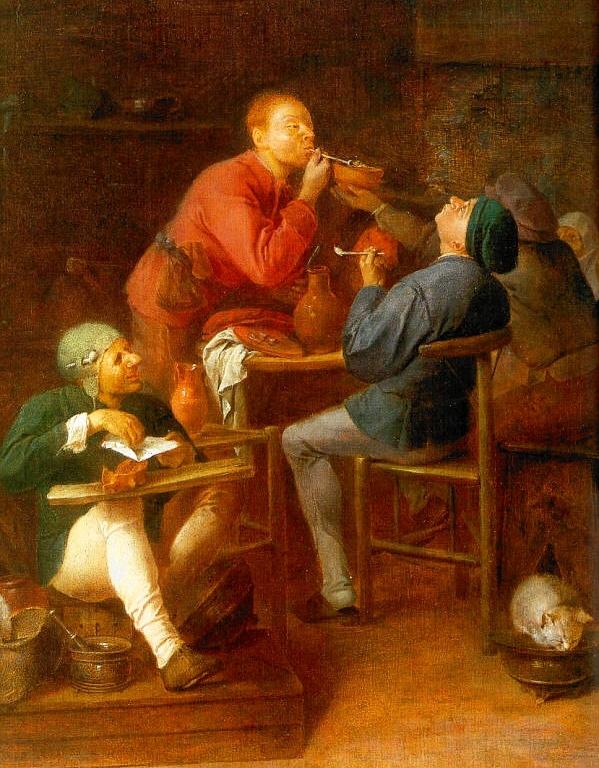 Европейцы впервые попробовали сигары