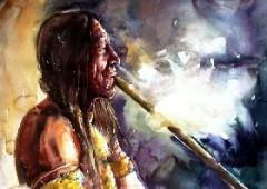 Индейский обычай
