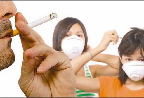 Пассивное курение вредит здоровью